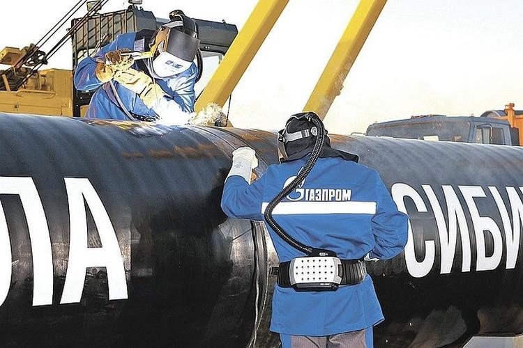 В декабре 2019 года запущен газопровод «Сила Сибири» из России в КНР. Фото: spetsgazavtotrans.gazprom.ru