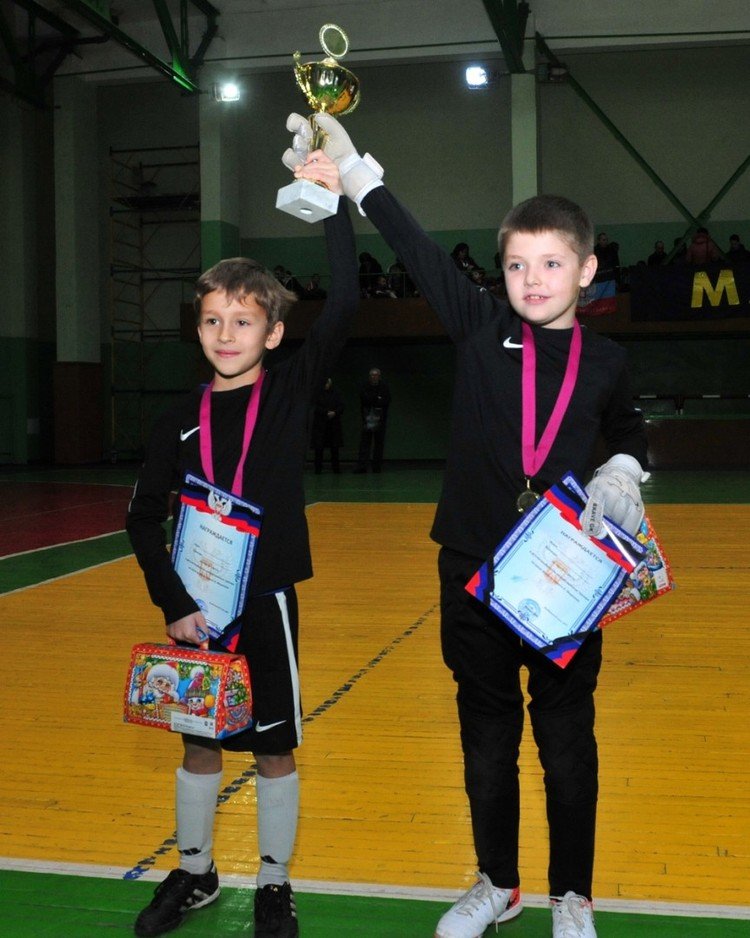 В Макеевке состоялся детский турнир по мини-футболу памяти Владимира Морозова. Фото: Минспорта ДНР