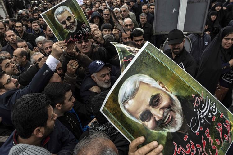 3 января после американского авианалета погиб иранский генерал Сулеймани.