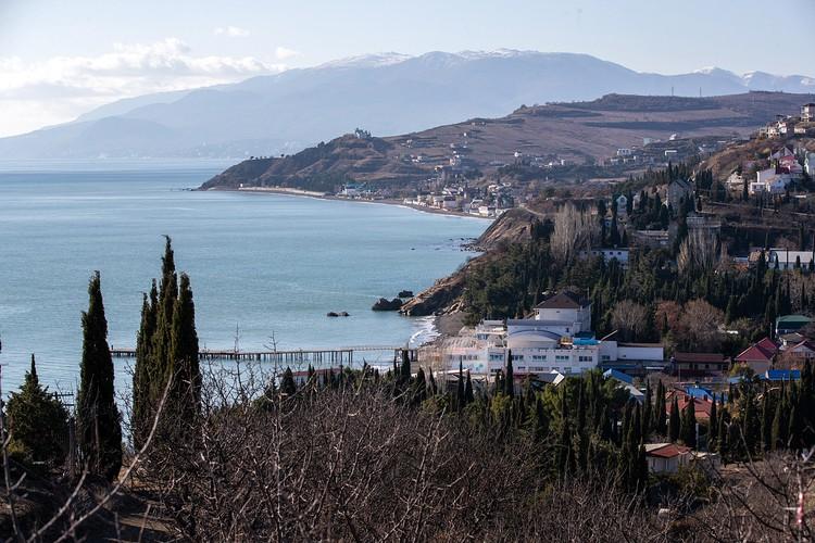 Крымская природа поражает своей красотой. Фото: Дмитрий Феоктистов/ТАСС