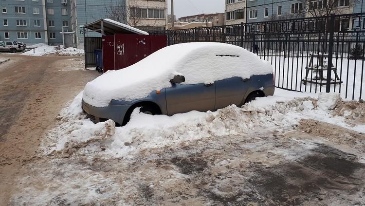 «Подснежники» мешают уборке снега