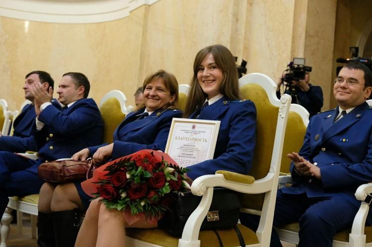 В Петербурге наградили лучших сотрудников прокуратуры