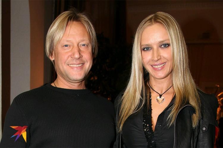 Дмитрий Харатьян с супругой Мариной Майко.