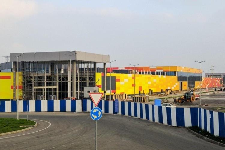 """""""Молл Балтии"""" станет крупнейшим торговым комплексом в Калининграде."""
