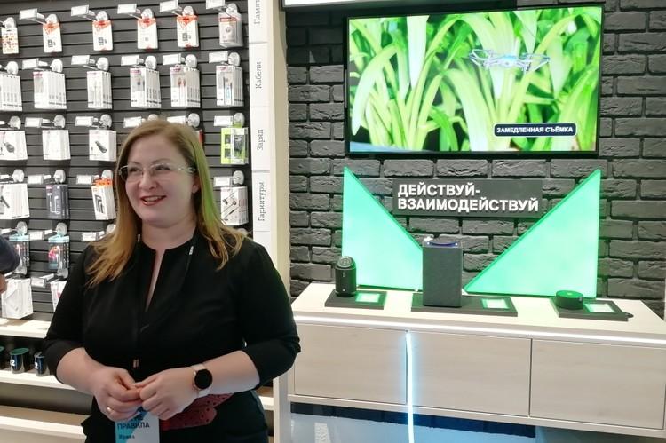 Директор рязанского филиала Ирина Тараканова рассказывает о возможностях нового салона.