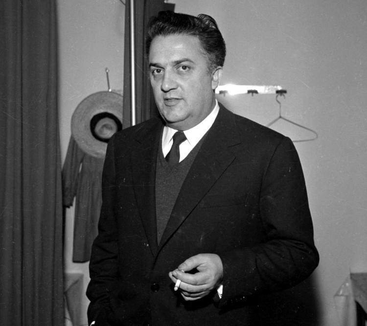 Федерико Феллини в 1961 году.