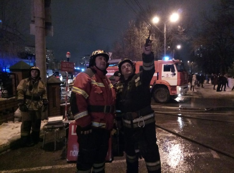 На пожаре работали около ста человек. Фото: МЧС РФ по Самарской области