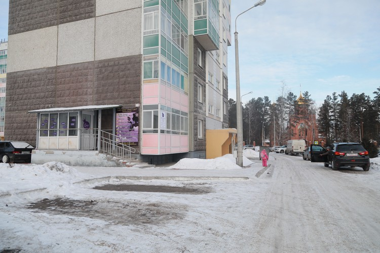 Тихие улицы Железногорска
