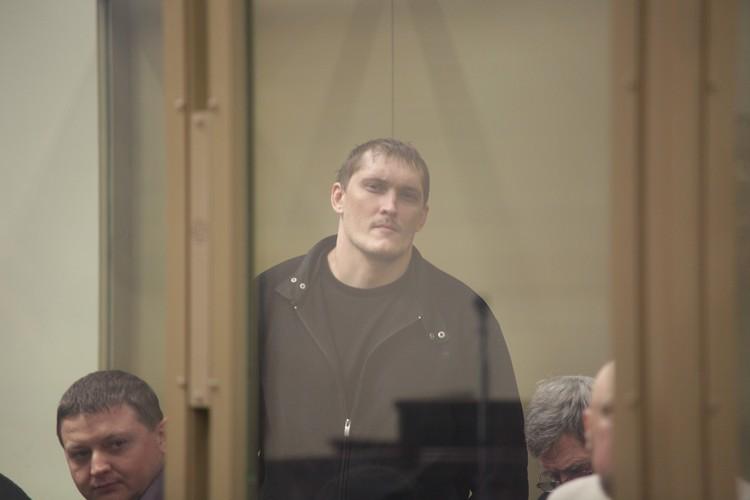Алексеев в суде в ноябре 2013 года