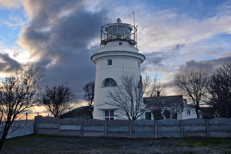 Ильинский маяк был полностью разрушен во время войны