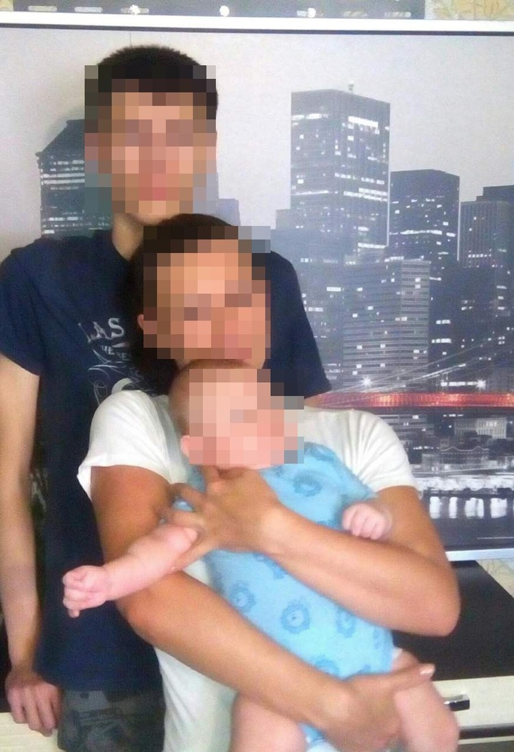 Лиза сейчас сама растит двух сыновей. Фото: личный архив.