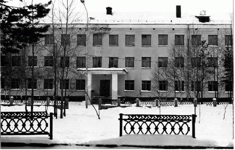 Так раньше выглядела печорская школа-интернат