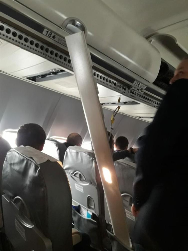 На борту в момент ЧП было 94 пассажира и члены экипажа. К счастью, никто не пострадал. Фото: соцсети.