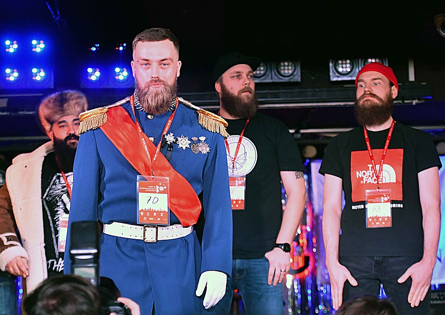 Конкурс Beard & Moustache Competition — 2020 Фото: Виктор ДРАЧЕВ