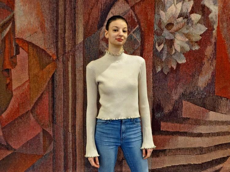 Иоана с коллегами отмечает, что балетмейстер театра Марианна Рыжкина очень добрая