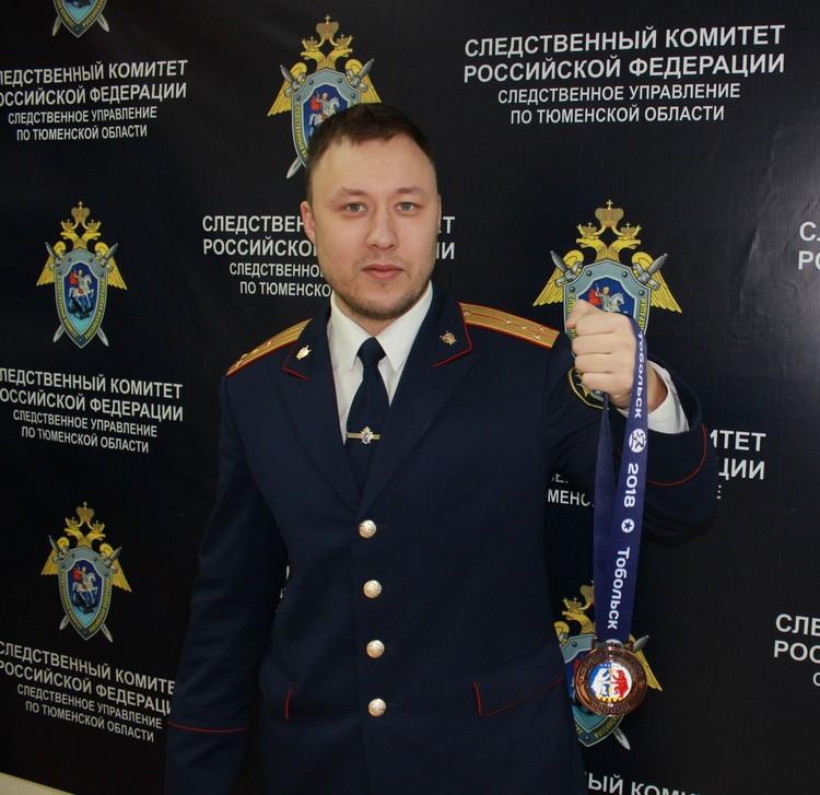 Уволенный из следственных органов Рафик Аглиуллин. Фото: СО СУ СК РФ по Тюменской области
