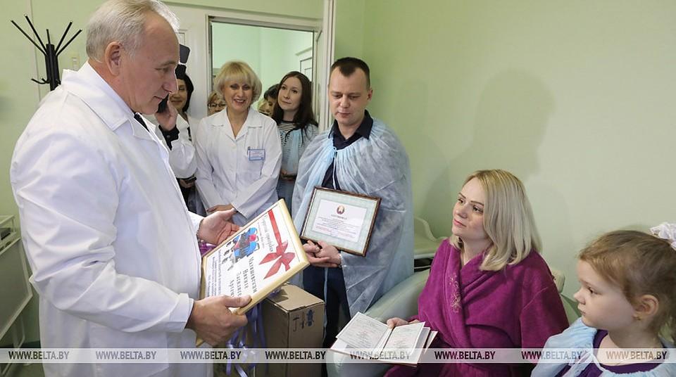 Семья Малишевских из Витебска. Фото - БелТА
