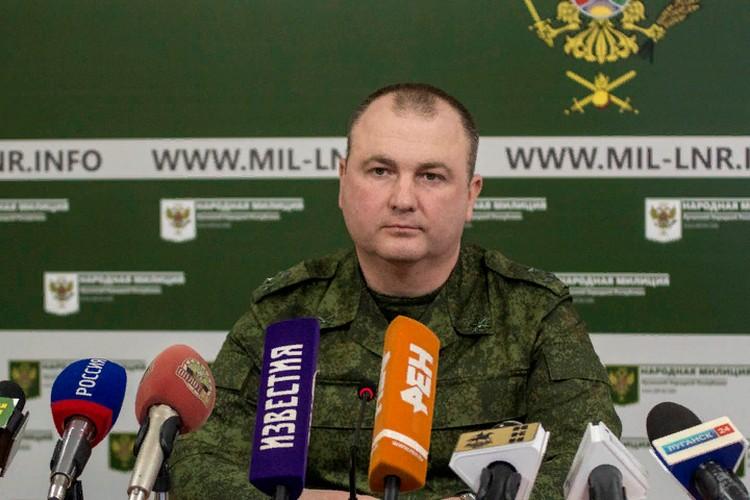 Начальник Управления НМ Республики Ян Лещенко рассказал подробности провокации. Фото: ЛИЦ