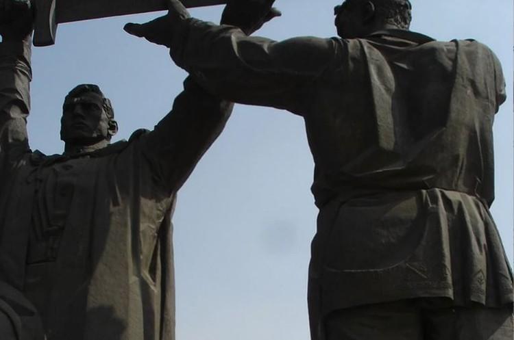 Магнитогорский монумент «Тыл — фронту». Фото: УЛьяна ШЕВЧЕНКО.