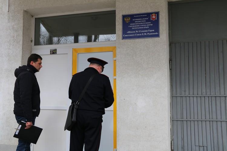 На совещание с министром пришли полицейские