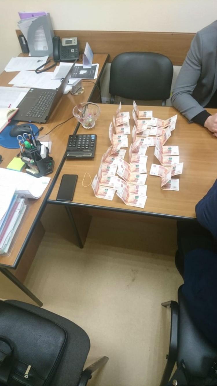 Предварительный размер взятки - 200 тысяч рублей. Фото: СКР по Мурманской области