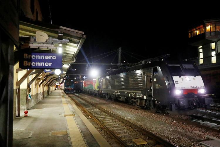 Отменено движение поездов между Италией и рядом соседних стран