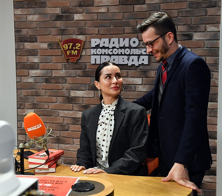 Андрей Курпатов побывал в гостях у Тина Канделаки на Радио «Комсомольская правда»