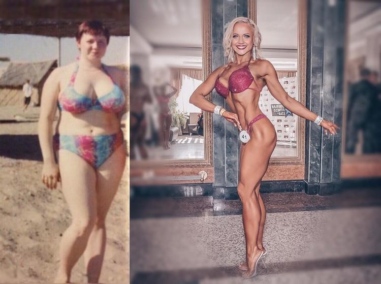 Когда-то Татьяна весила 95 килограммов. Фото: instagram.com/tatianaarchekova
