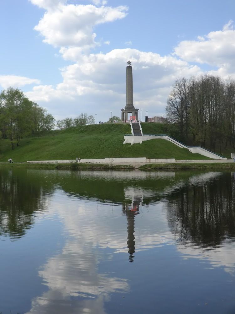 Фото из архива В. Павлова. Обелиск Славы.