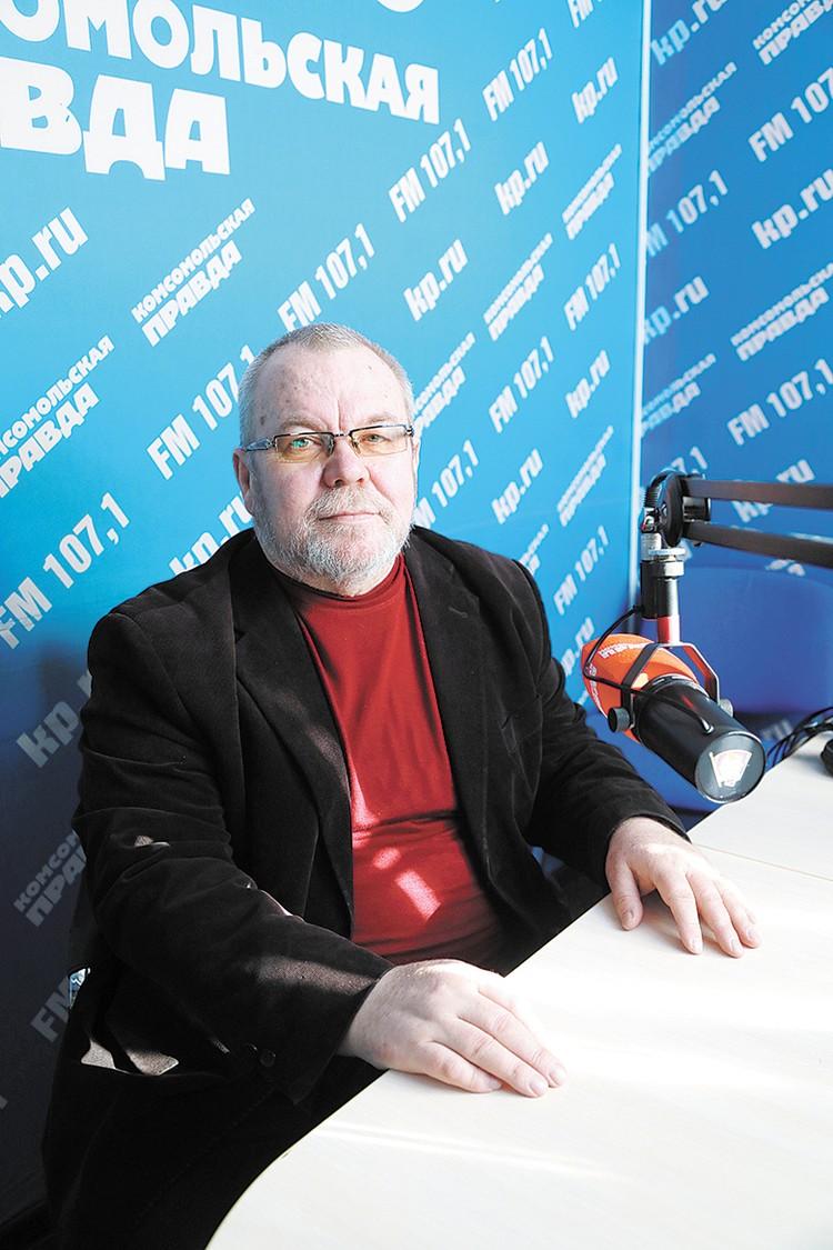 Руководитель отдела по взаимоотношениям Церкви с обществом и СМИ Красноярской епархии Геннадий Малашин.