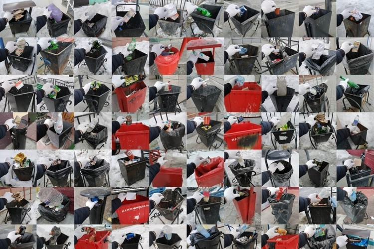 Убористый фотоколлаж - отчет о проделанной работе в честь 8 Марта. Фото: группа Чистомэн vk.com