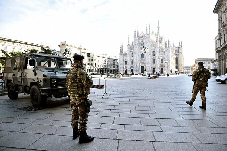 Италия из-за коронавируса изолирует весь север страны