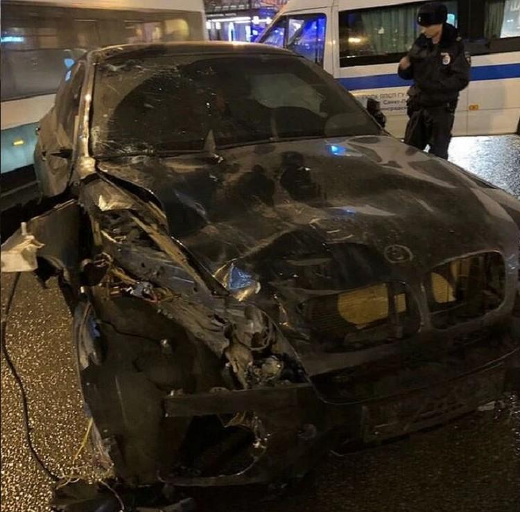 На этой машине Мурад Касымов сбил пятерых человек. Фото: vk.com/spb_today