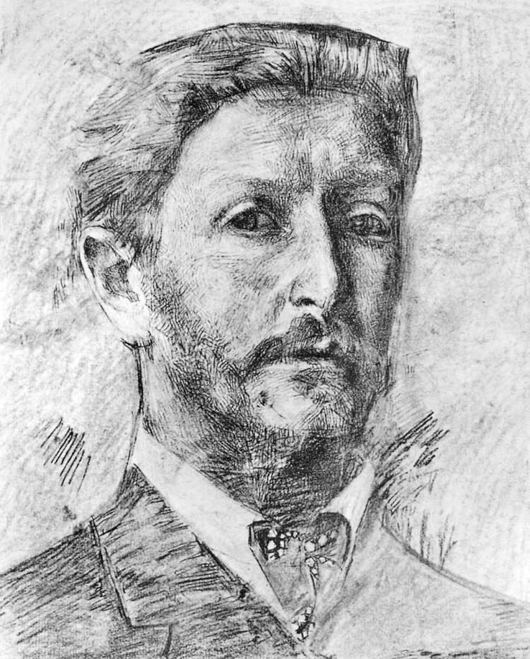 Михаил Врубель. Автопортрет.