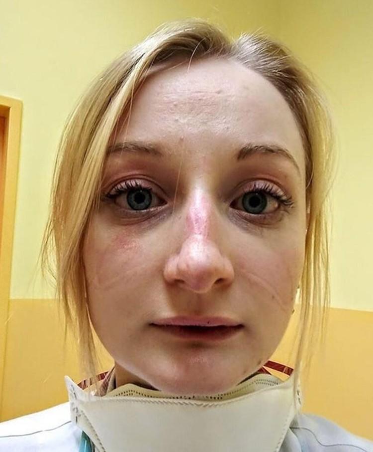 Медсестра из Чехии.