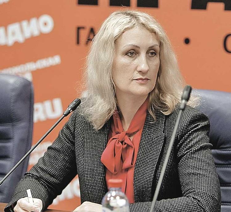 Любовь Меланевская - директор ассоциации «РусПЭК»