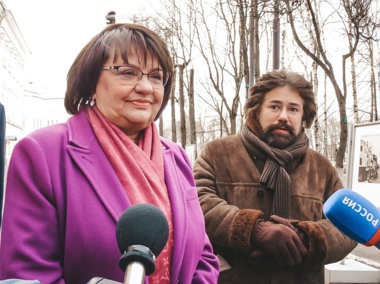 Светлана Мельникова и Николя Челоро