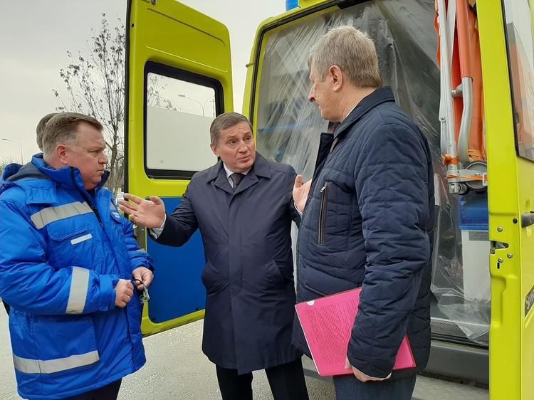 Одну подстанцию скорой помощи власти региона решили перепрофилировать под коронавирус.