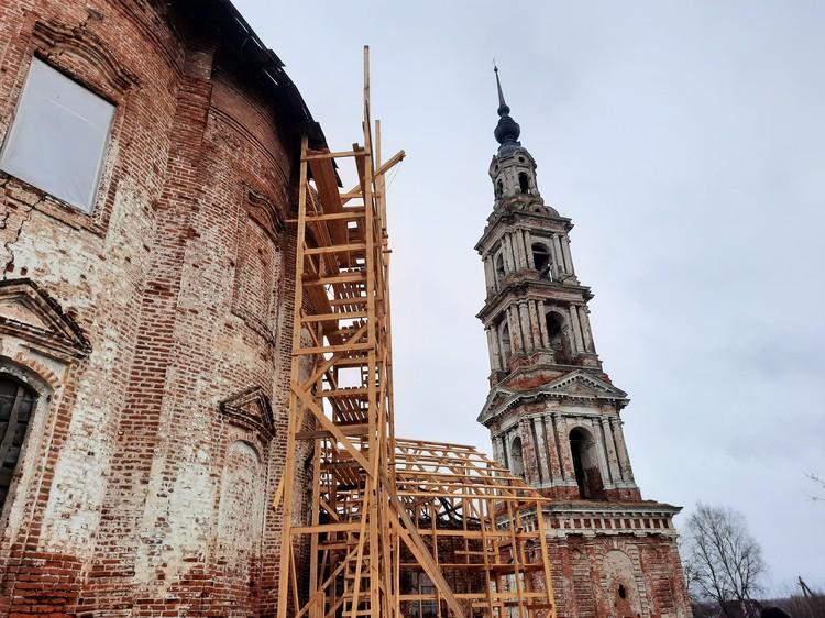 В Казанской церкви начинаются консервационные работы