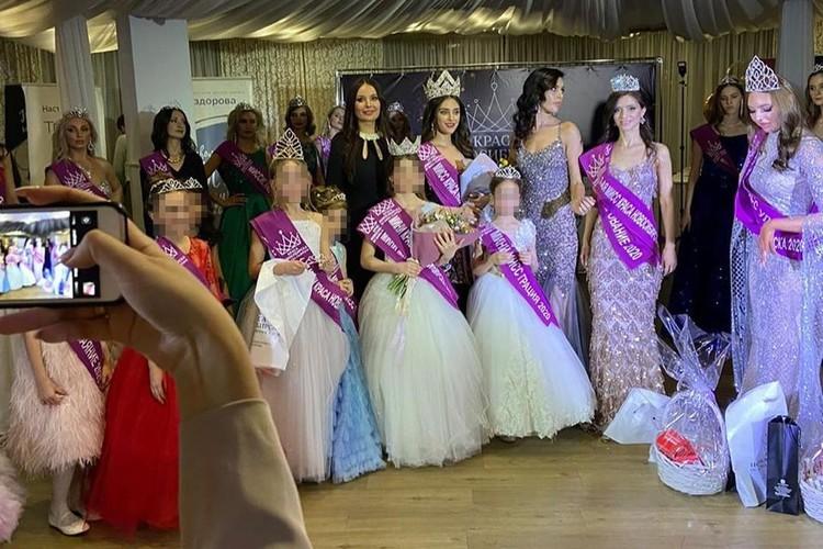На конкурсе были 32 участницы, 14 из них - дети. Фото: соцсети.