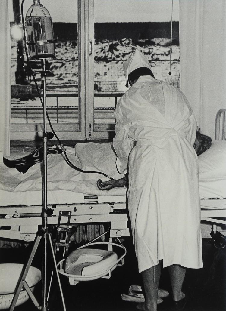 70-е годы. Отделение анестезиологии-реанимации №4 для инфекционных больных. Фото: архив Городской клинической больницы №40