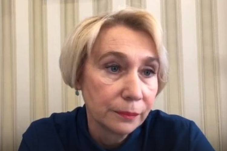 Лариса Позднякова рассказал, когда ждать пика заболевших коронавирусом. Фото: стоп-кадр
