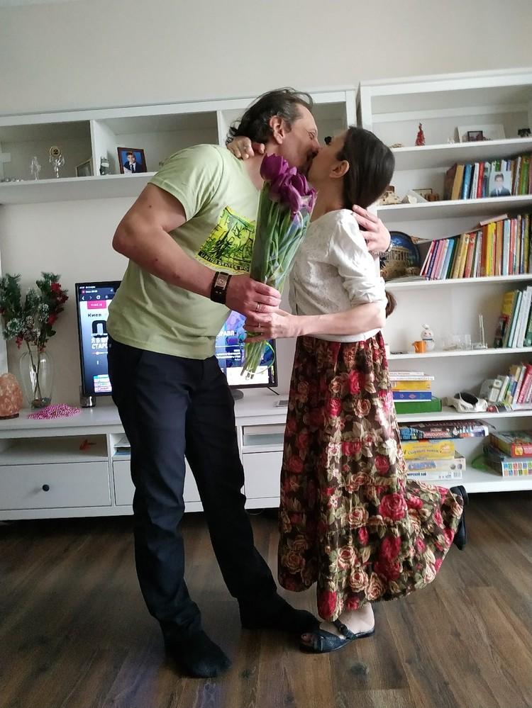 Екатерина и Дмитрий прошли все трудности вместе.