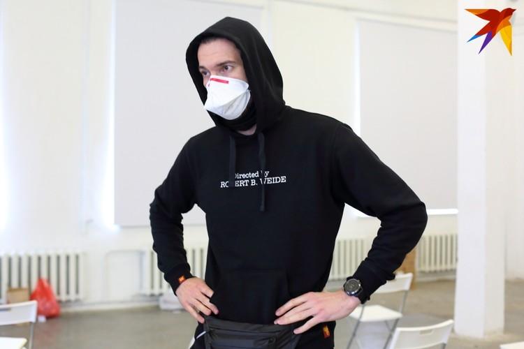 Андрей Ткачев один из кураторов этого волонтерского движения #ByCovid19 в Минске.