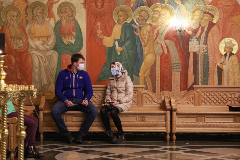 Празднование Пасхи в Иркутске. Фото: Юлия ПЫХАЛОВА