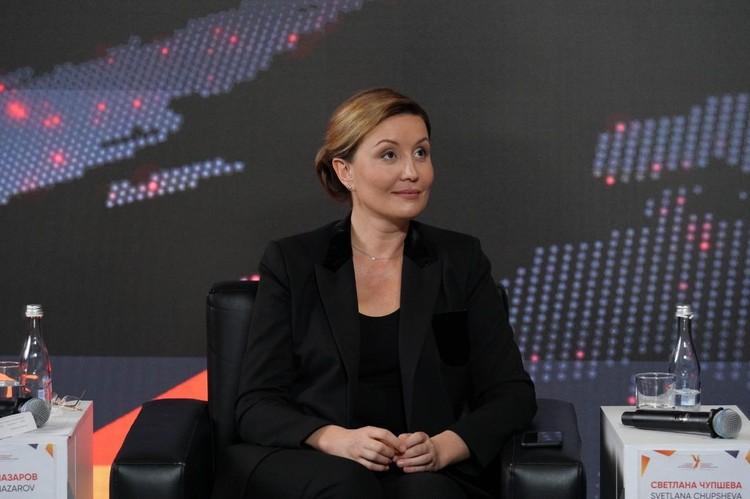 Светлана Чупшева, генеральный директор Агенства стратегических инициатив