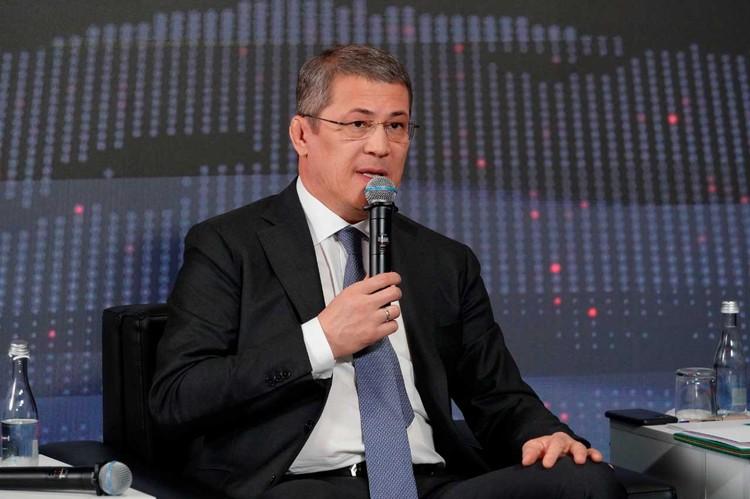 Глава Республики Башкортостан Радий Хабиров.