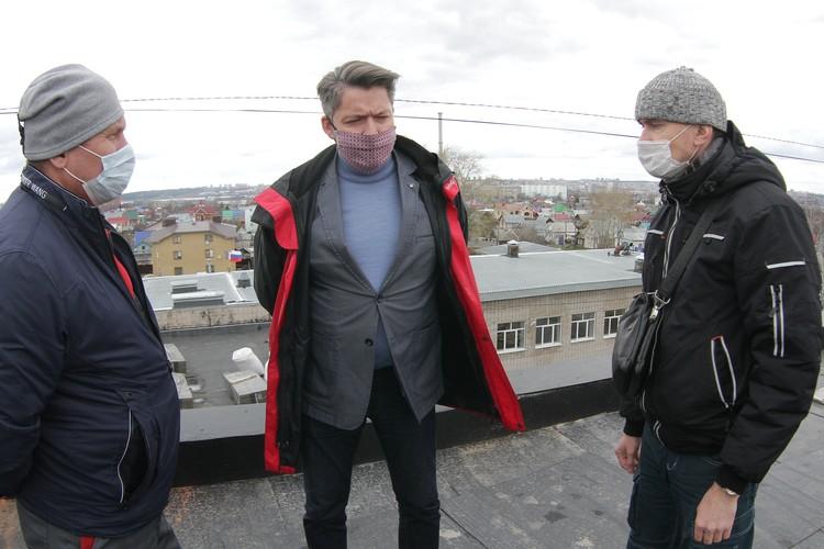 30 апреля глава города Олег Бекмеметьев посетил один из ремонтируемых объектов
