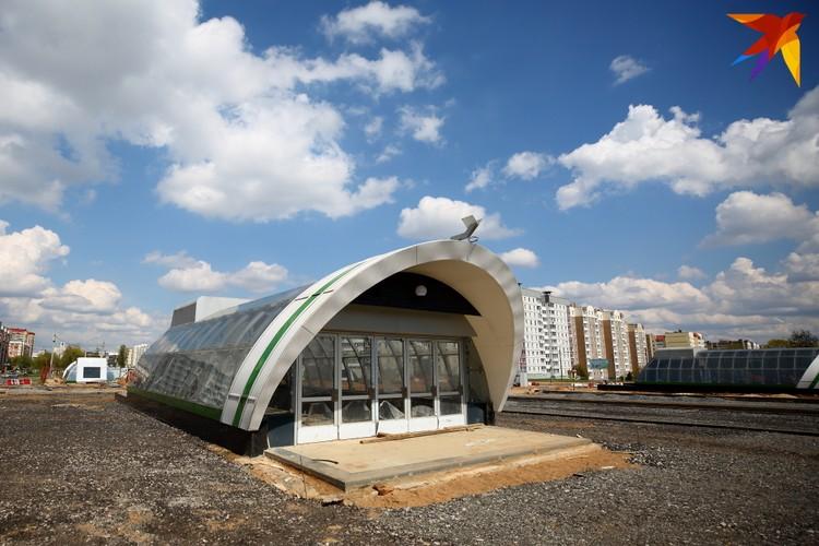 """Так выглядят подземные переходы, которые будут вести к вестибюлю станции """"Кавальская слабада""""."""