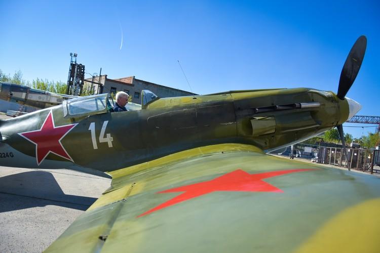 МиГ-3 накануне парада Победы.